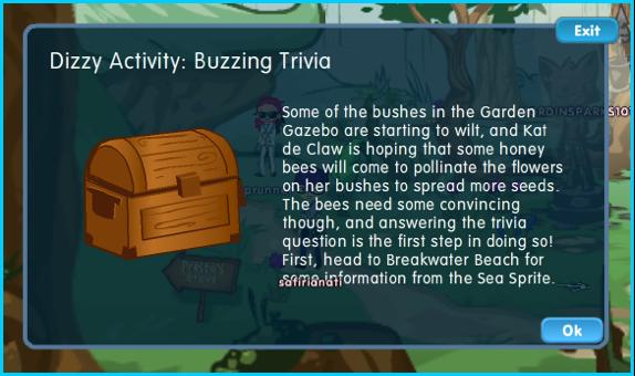Dizzywood Buzzing Trivia