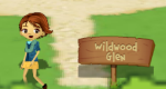 The sign to Wildwood Glen