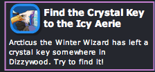 Find the Crystal Key to the Icy Aerie