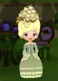 Dizzywood Marie Antoinette Costume