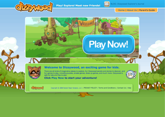 Dizzywood's new home page