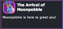 Arrival of Moonpebble