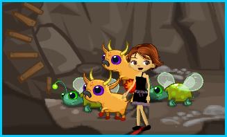 Cute critters in chasm