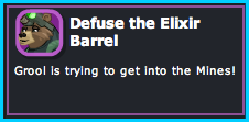 Dizzywood - Defuse the Elixir Barrel
