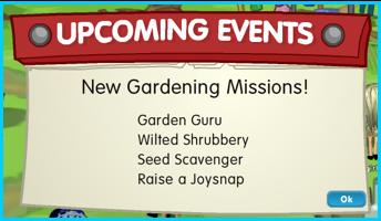 Gardening Missions
