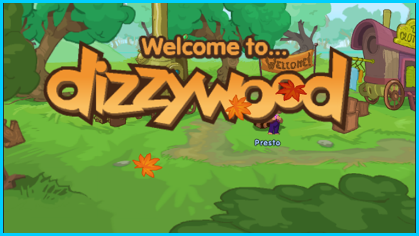 New Dizzywood Starting Screen