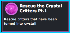 Dizzywood Rescue the Crystal Critters