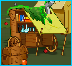 The Science Tent in Explorer's Camp