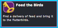 Feed the Birds Dizzywood Mission