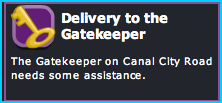 Delivery to the Gatekeeper mission