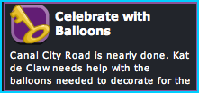 Celebrate with Balloons in Dizzywood