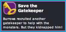 Dizzywood Save the Gatekeeper