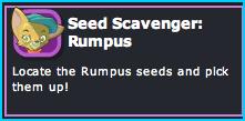Seed Scavenger: Rumpus