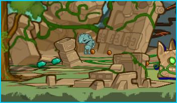Rock Bogie hiding in Tanglevine Jungle