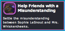 Help Friends with a Misunderstanding