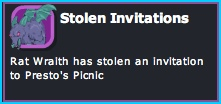 Stolen Invitations Mission