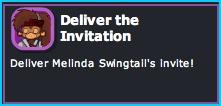 Deliver the Invitation in Dizzywood