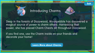 Introducing Charms in Dizzywood