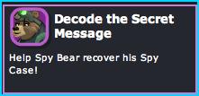 Dizzywood Decode the Secret Message Mission