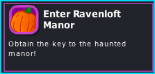 Enter Ravenloft Manor