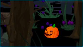 Dizzywood pumpkin in Wildwood Glen