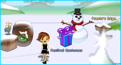 Festival Costumes in Dizzywood